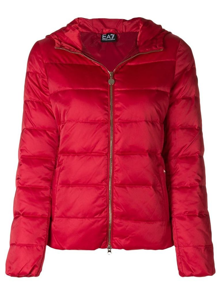 Ea7 Emporio Armani padded jacket - Red