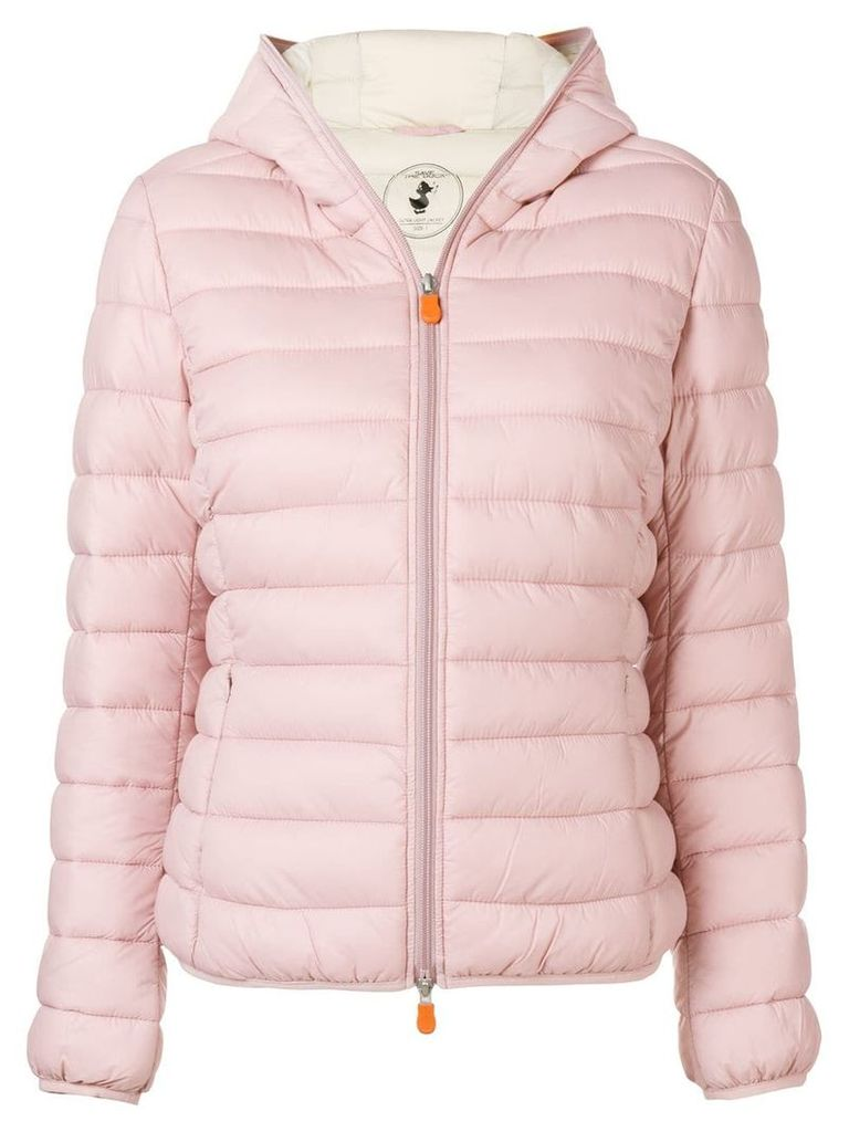 Save The Duck padded jacket - Pink & Purple