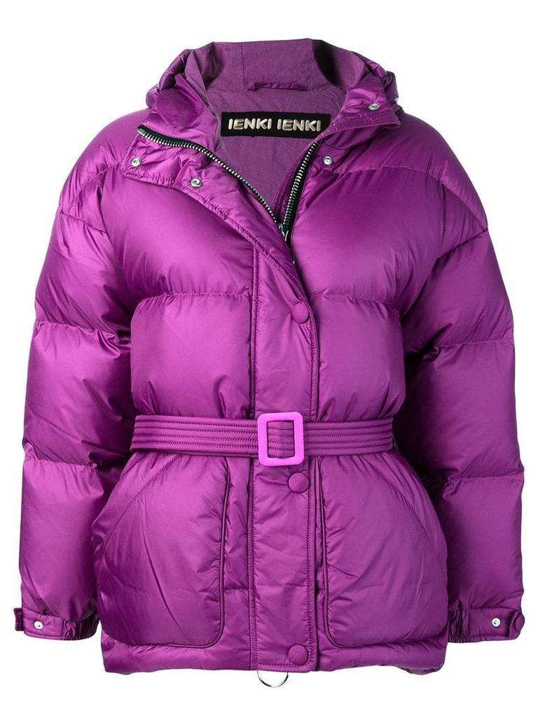 Ienki Ienki oversized puffer jacket - Pink & Purple