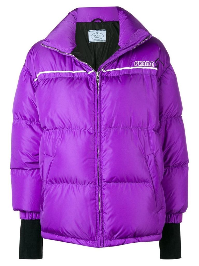Prada padded jacket - Pink & Purple