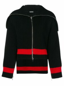 Alexander McQueen knitted cardigan - Black