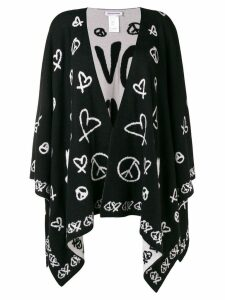 Quantum Courage Love Squad cardigan - Black