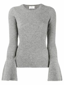 Allude wide sleeve jumper - Grey