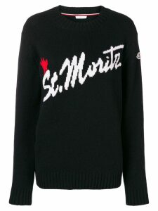 Moncler St. Mortiz sweater - Black