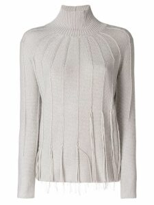 Fabiana Filippi cashmere turtle neck jumper - Grey