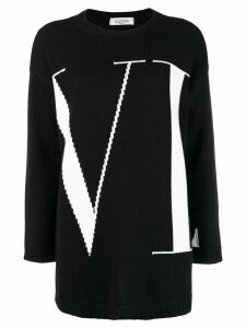 Valentino VLTN logo sweater - Black