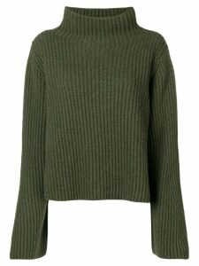 Stella McCartney ribbed knit jumper - Green