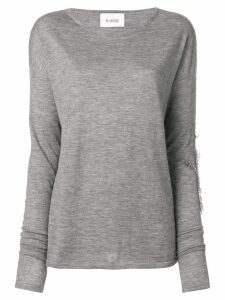 Barrie Sweet Eighteen cashmere round neck pullover - Grey