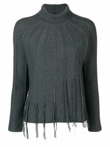 Fabiana Filippi fringed jumper - Green