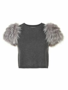 Alice+Olivia Ciara sweater - Grey