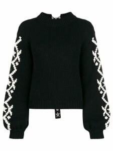 Alanui cashmere roll neck jumper - Black