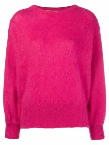 Maison Flaneur crew neck sweater - PINK