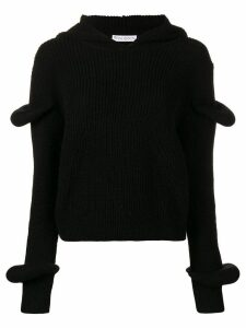 JW Anderson rib knit jumper - Black