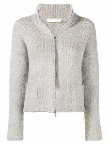Fabiana Filippi zip sweater - Neutrals
