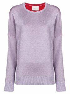 Laneus loose fit jumper - PINK