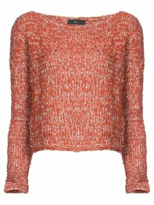 Voz twist jumper - Red