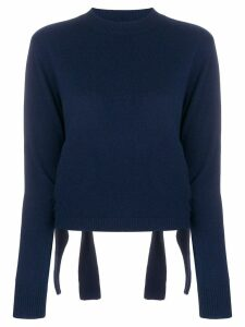 Cashmere In Love Stella cropped jumper - Blue