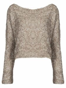 Voz twist jumper - Sand