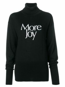 Christopher Kane 'More Joy' turtleneck knit - Black