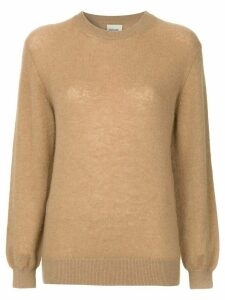 Khaite Viola cashmere sweater - Brown