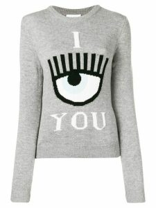 Chiara Ferragni see you sweatshirt - Grey