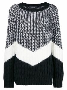 Barbara Bui striped jumper - Black