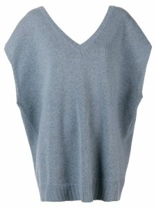 Stella McCartney cap sleeve sweater - Blue