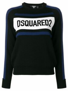 Dsquared2 logo sweatshirt - Black