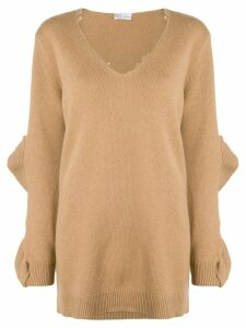 Red Valentino oversized sweater - Neutrals