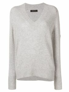Isabel Marant V-neck knitted jumper - Grey