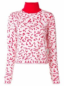 Aalto turtle neck sweater - Red