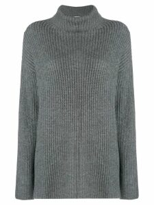 Le Kasha Lisbon ribbed jumper - Grey