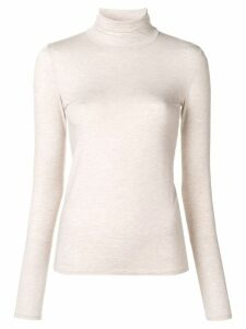 Majestic Filatures slim fit jumper - Neutrals