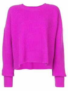 Re/Done ribbed trapeze sweater - Pink