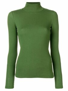 Each X Other Fitted Turtle Neck Sweater - Green