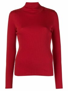 Each X Other turtle neck jumper - Red