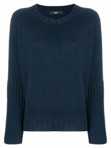 Steffen Schraut wide sleeved jumper - Blue