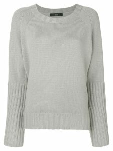 Steffen Schraut ribbed knit jumper - Grey