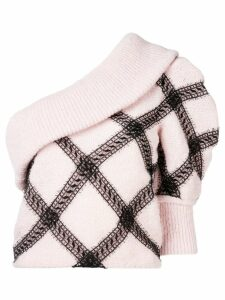 Philosophy Di Lorenzo Serafini one shoulder sweater - Pink