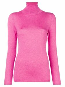Snobby Sheep roll neck fine knit sweater - Pink