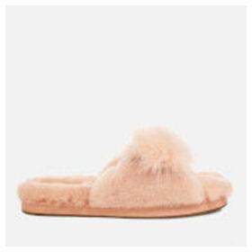 UGG Women's Mirabelle Sheepskin Slide Slippers - Amberlight - UK 8 - Pink