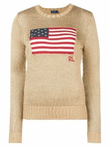 Polo Ralph Lauren flag jumper - Metallic