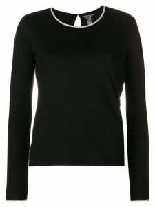 Majestic Filatures perfectly fitted sweater - Black