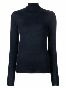 Victoria Beckham signature polo sweater - Blue