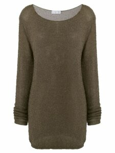 Faith Connexion classic long-sleeve sweater - Green