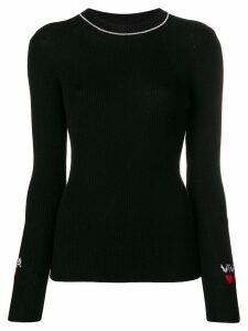Vivetta knitted top - Black