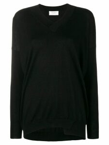 Snobby Sheep knitted long sleeved top - Black