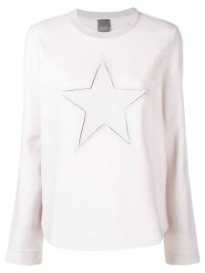 Lorena Antoniazzi Star sweater - 0103 beige
