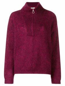 Isabel Marant Étoile Cyclan zipped sweater - Pink
