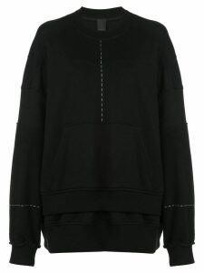 Vera Wang oversized sweatshirt - Black